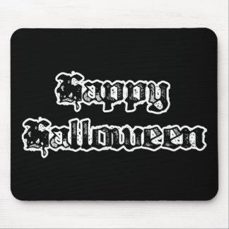 Feliz Halloween gótico del sello Alfombrillas De Raton