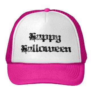 Feliz Halloween gótico del sello Gorro