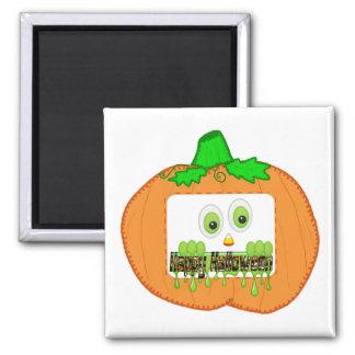 Feliz Halloween Imán Cuadrado