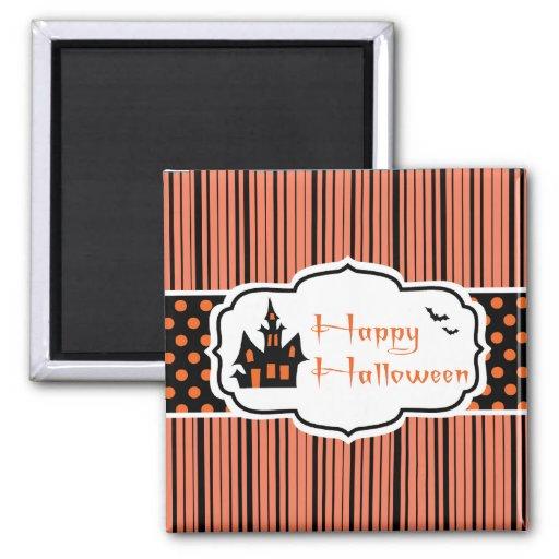 Feliz Halloween Imán De Nevera
