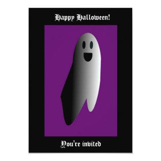 """Feliz Halloween Invitación 5"""" X 7"""""""