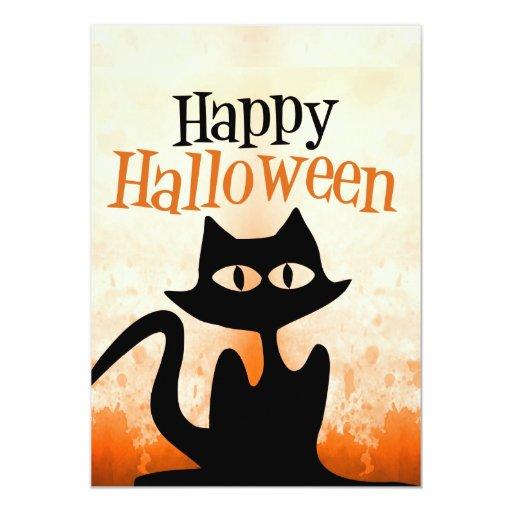 Feliz Halloween Invitación Personalizada