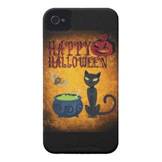 Feliz Halloween iPhone 4 Case-Mate Cobertura