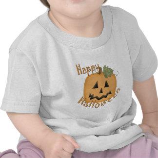 Feliz Halloween Jack sonriente O'Lantern Camisetas