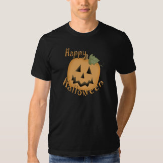 Feliz Halloween Jack sonriente O'Lantern Playera
