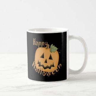 Feliz Halloween Jack sonriente O'Lantern Taza De Café