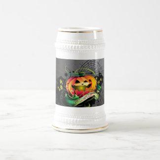 Feliz Halloween Jarra De Cerveza