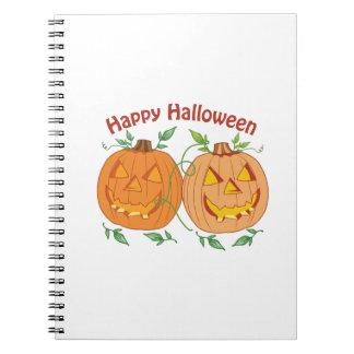 Feliz Halloween Libro De Apuntes