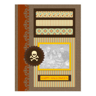 feliz Halloween (libro de recuerdos) Tarjetas Postales