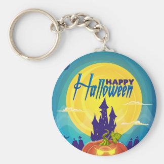 Feliz Halloween Llavero Redondo Tipo Pin
