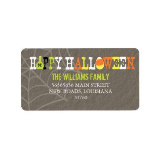Feliz Halloween (mejor premio de hoy) Etiqueta De Dirección