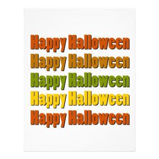 Feliz Halloween Membretes Personalizados