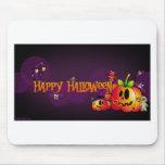 Feliz Halloween Mouse Pads