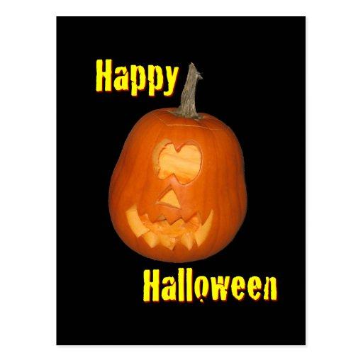 Feliz Halloween Notecard Postal