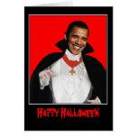 Feliz Halloween Obama Felicitacion