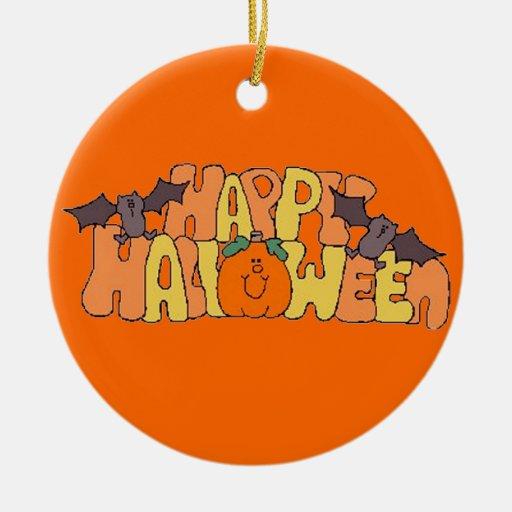 Feliz Halloween Ornamento De Navidad