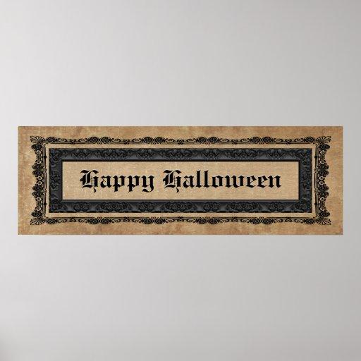 Feliz Halloween Posters