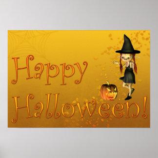 Feliz Halloween Impresiones