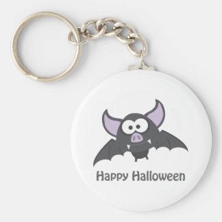 Feliz Halloween. Palo de vampiro lindo Llavero Personalizado
