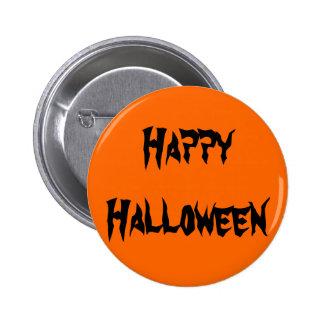 Feliz Halloween Pin Redondo 5 Cm
