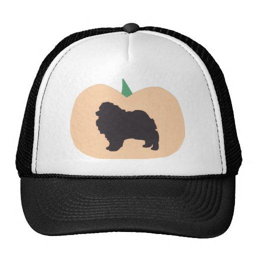 Feliz Halloween Pomeranian Gorros