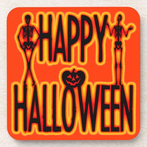 Feliz Halloween Posavasos De Bebidas