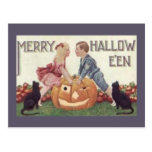 Feliz Hallowe'en Postal