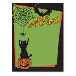 Feliz Halloween Postal