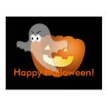 ¡Feliz Halloween! Postal