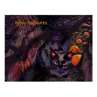 Feliz Halloween, postal