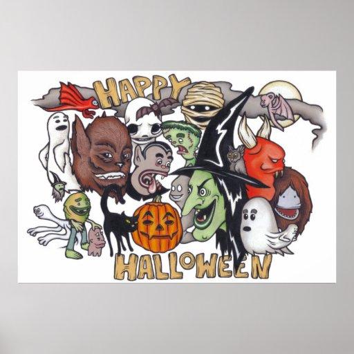 ¡Feliz Halloween! Poster