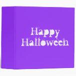 Feliz Halloween, púrpura