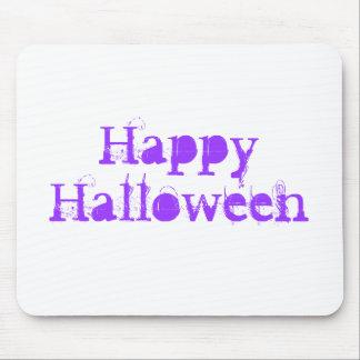 Feliz Halloween, púrpura Alfombrilla De Ratón