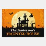 Feliz Halloween - recepción a la casa encantada Cartel