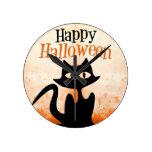 Feliz Halloween Reloj De Pared
