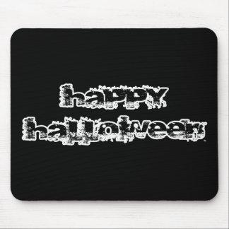 Feliz Halloween retro de la roca Alfombrillas De Ratones