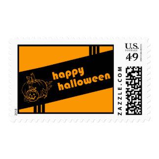 feliz Halloween: retro: Estampillas