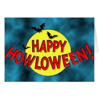 Feliz Halloween - tarjeta
