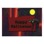 Feliz Halloween Tarjeta