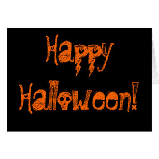 ¡Feliz Halloween! Tarjeta De Felicitación