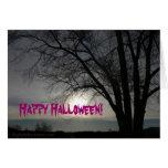 Feliz Halloween - tarjeta de felicitación