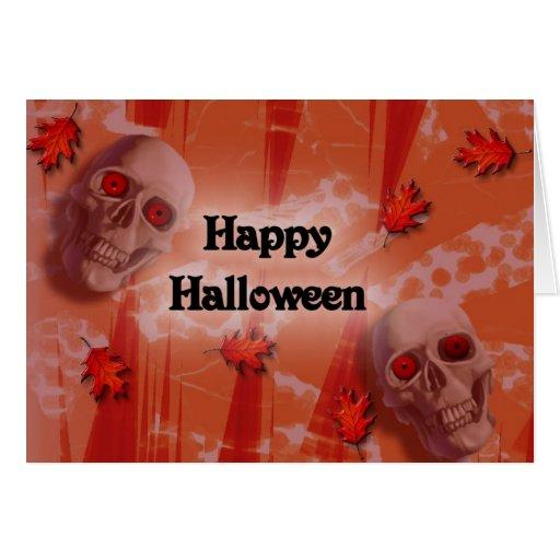 Feliz Halloween Tarjeta De Felicitación