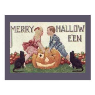 Feliz Hallowe'en Tarjeta Postal