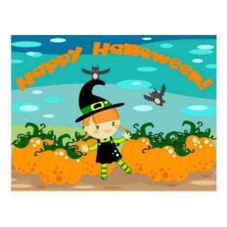 ¡Feliz Halloween! Tarjeta Postal