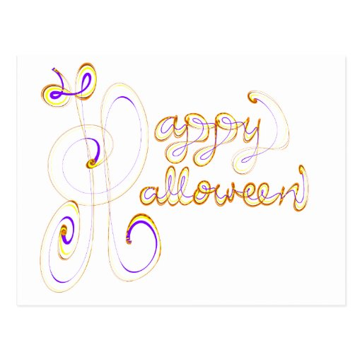 Feliz Halloween Tarjeta Postal