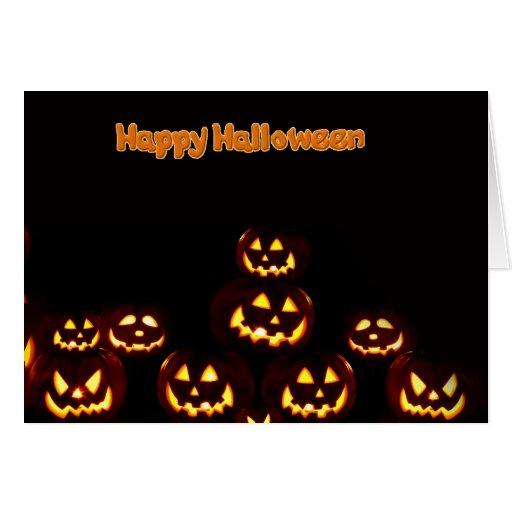 Feliz Halloween--tarjetas de felicitación de las