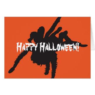 ¡Feliz Halloween Tarjeton