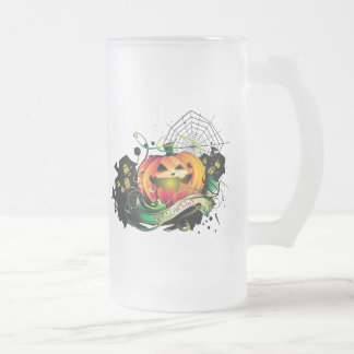 Feliz Halloween Taza De Cristal