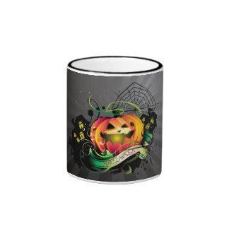 Feliz Halloween Taza De Dos Colores
