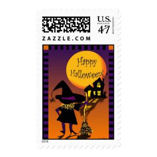Feliz Halloween Timbres Postales